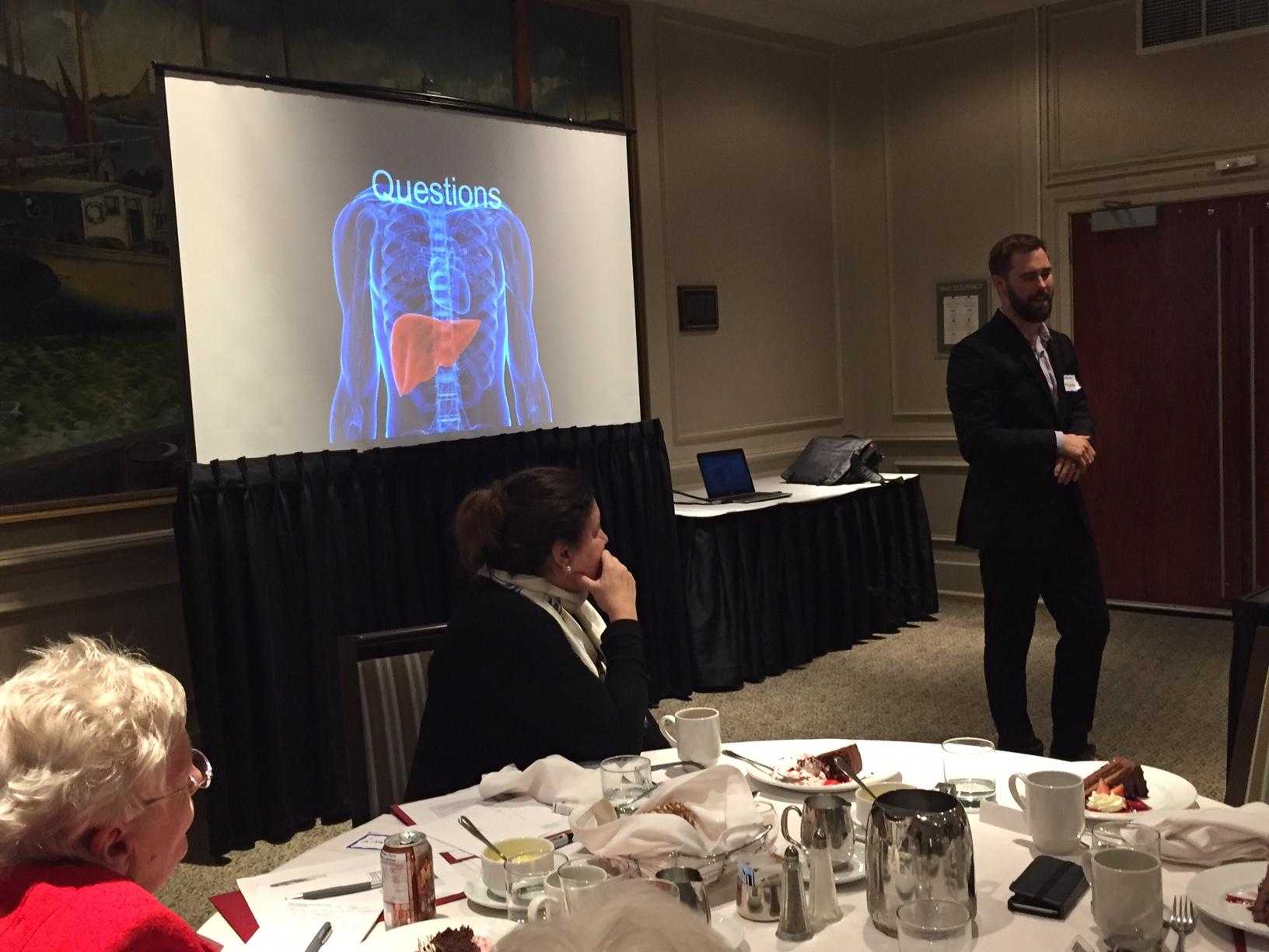 Halifax PBC Dinner/Speaker Meeting